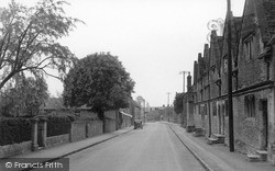 Kington St Michael, Main Street c.1950
