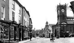 Kington, The Cross c.1955