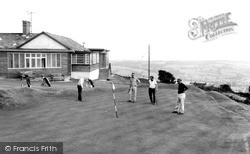 Kington, the Golf Club c1965
