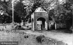 Kington, The Lychgate c.1965