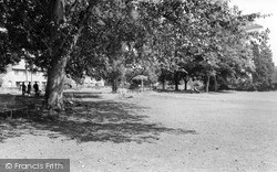 Kington, The Park c.1965