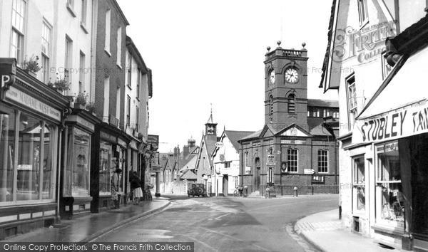 Kington, Town Centre c1955