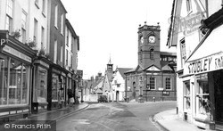 Kington, Town Centre c.1955