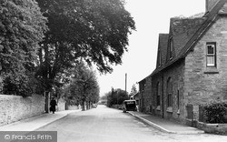 Kington, Victoria Road c.1955