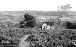 Kington, View From Bradnor Hill c.1955