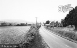 Kington, View From Leominster Road c.1955