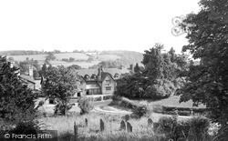 Kington, View From The Church c.1965