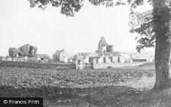 Kinloss Abbey c.1890, Kinloss