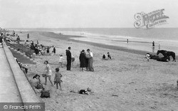 Kinmel Bay, Beach c.1950