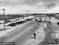 Kinmel Bay, Foryd Road c.1955