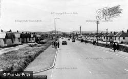 Foryd Road c.1965, Kinmel Bay
