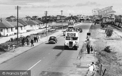 Kinmel Bay, Open Topped Bus, Foryd Road c.1955