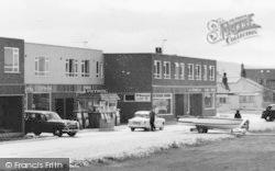 Kinmel Bay, Petrol Station, Abergele Road c.1965