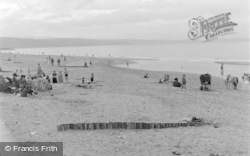 Kinmel Bay, The Beach c.1939