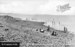 Kinmel Bay, The Beach c.1955