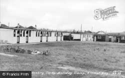 Kinmel Bay, The Camp Chalets c.1955