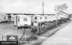 Kinmel Bay, The Co-Op Camp Stores And Caravans c.1955