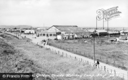 Kinmel Bay, The Entrance, Golden Sands Holiday Camp c.1955