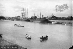 Kinmel Bay, The Foryd Harbour c.1935