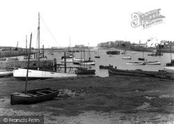 Kinmel Bay, The Harbour c.1939