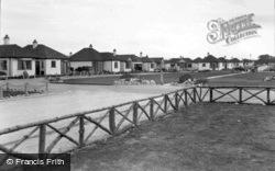 Woodside Avenue And Children's Playground, Sandy Cove c.1939, Kinmel Bay