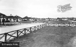 Kinmel Bay, Woodside Avenue Looking From Sea c.1939