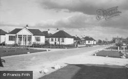 Kinmel Bay, Woodside Avenue, Sandy Cove c.1955