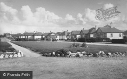 Woodside Avenue, Sandy Cove Estate c.1955, Kinmel Bay