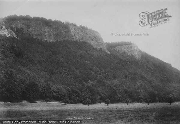 Kinnoull, from Dundee Road 1899
