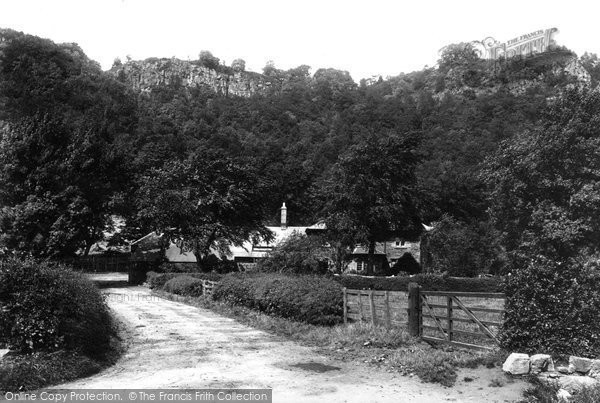 Photo of Kinnoull, From Dundee Road 1899