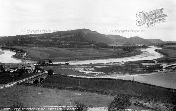 Photo of Kinnoull, From Edinburgh Road 1899