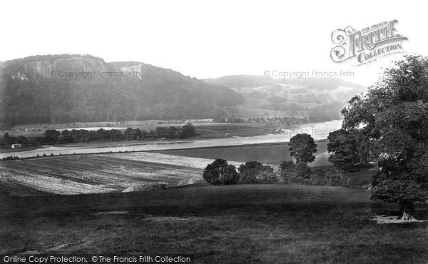 Photo of Kinnoull, Hill, From Rhynd Road 1899