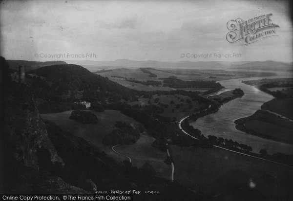 Photo of Kinnoull, Valley Of Tay 1899