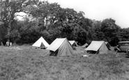 Kinson, Butchers Coppice Scout Camp c1955