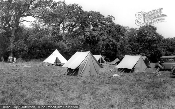 Photo of Kinson, Butchers Coppice Scout Camp c1955
