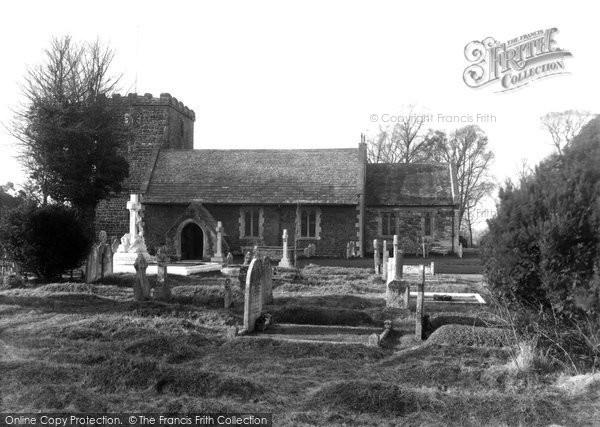 Photo of Kinson, St Andrew's Church c1950