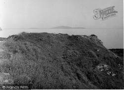 Kintyre, Dunaverty Castle 1955
