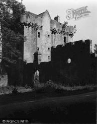 Kintyre, Saddell Castle 1955
