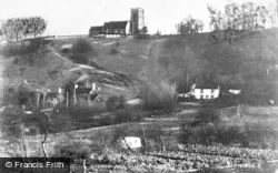 Kinver, Church And Cliff c.1939
