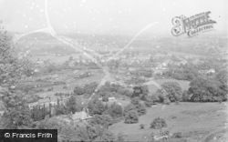 Kinver, General View From The Edge 1951