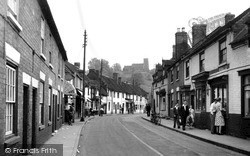 Kinver, High Street And Parish Church c.1955