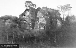 Kinver, Holy Austin Rock From The West c.1939