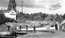 Kinver, The Lock, Union Canal c.1965