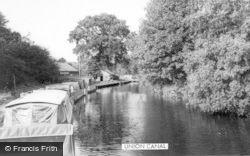 Kinver, Union Canal c.1965