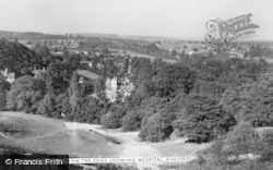 Kinver, View From The Edge Showing Hospital c.1950