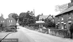 Kinver, White Hill c.1955