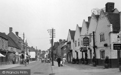 Kinver, Ye Old White Harte Hotel c.1955
