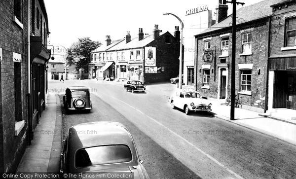 Kippax, High Street 1959