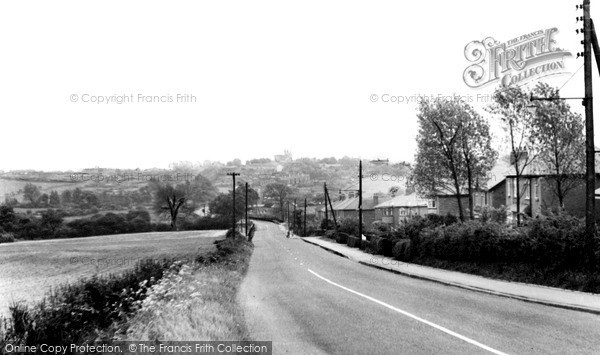 Kippax, the Leeds Road c1960