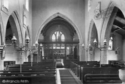 Church Interior 1913, Kirby Hill